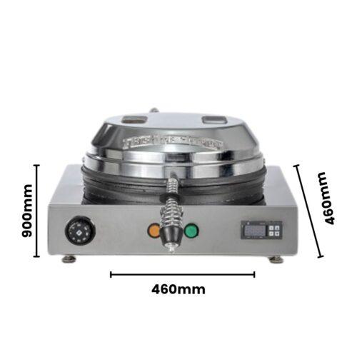 misure robocrepes 3.0 quadra chiusa